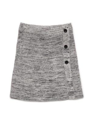 台形ニットスカート
