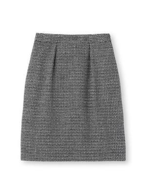セレモニーツイードタイトスカート
