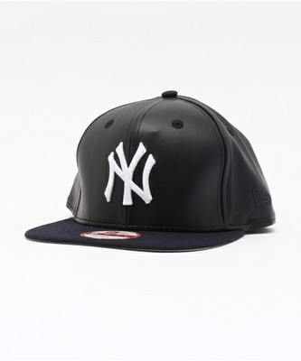NEWERA 9FIFTY SNAPBACK CAP SMOOTHLY STATED NEW YORK YANKEES BLACK