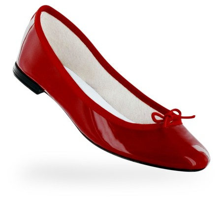 PATENT LEATHER FLAMMY RED