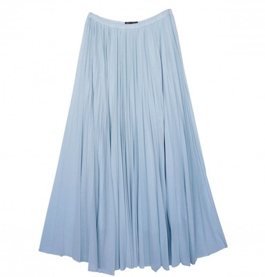 JERSEY PLEATS SKIRT