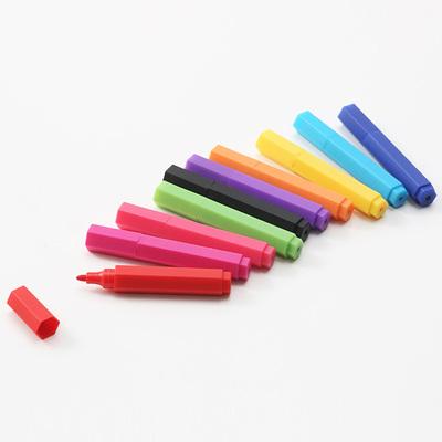 無印良品 / 水性六角ミニカラーペンセット10色