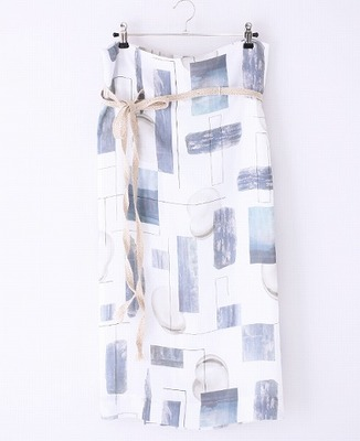 ohta(オオタ) mame wrap skirt