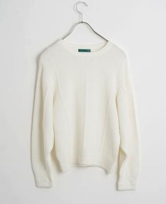 ohta(オオタ)white sweater