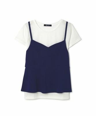 キャミセットTシャツ