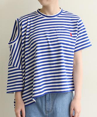 コーマ天竺 双子Tシャツ