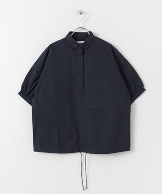 スモールカラーパフスリーブシャツ