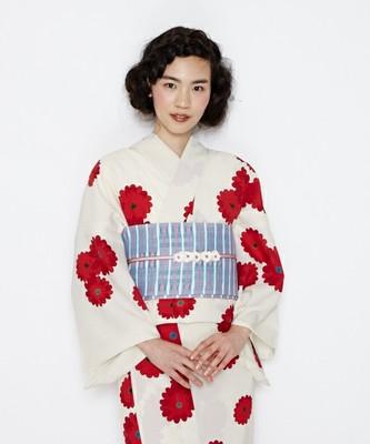 浴衣「乙女菊」