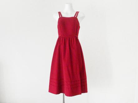 raspberry red コーデュロイ ジャンパー dress
