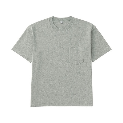 MEN ビッグシルエットポケ付きT(半袖)