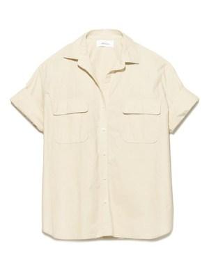 ワークポケット半袖シャツ