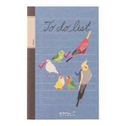 やることノート(トリ柄)