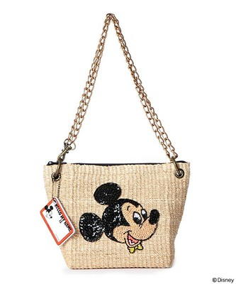 (BEAMS BOY) Disney ミニ チェーンバッグ