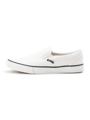 Vulcanized canvas Slip-on