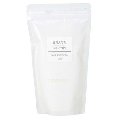 薬用入浴剤・ミルクの香り(詰替用) (新)380g・スプーン付