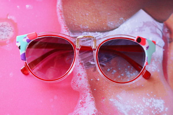 [RED]80'S COLOR SUNGLASSES