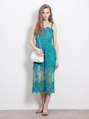 シェルレースドレス