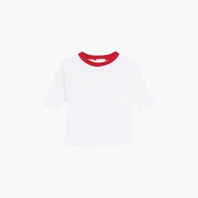 PE crop T shirts