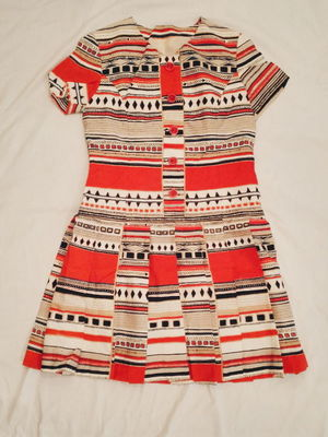 USED TRIBAL PATTERN DRESS