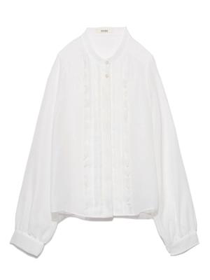 コットンメッシュシャツ