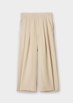 タック ワイド パンツ Tuck Wide Pants