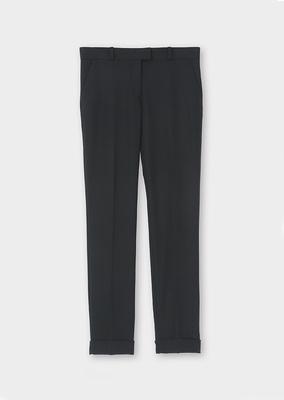 サマーウール スリムトラウザーズ Summer Wool Slim Trousers