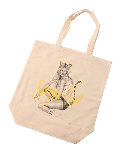 【Bonjour Girl】グラフィックトートバッグ