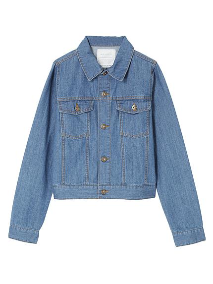 【BIJ】 デニムショートジャケット