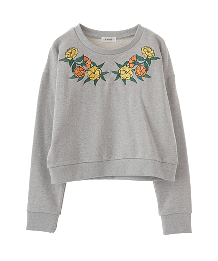 FLOWER embroidery PO