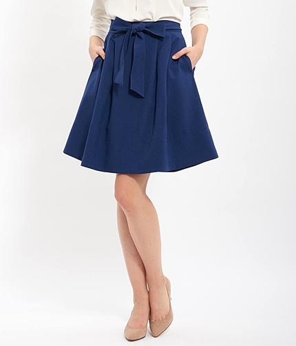 【EASY CARE】ウォッシャブルAラインスカート