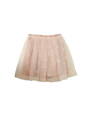 lip organdy skirt-inpants