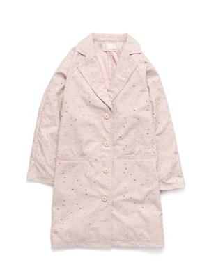 コットン刺繍コート