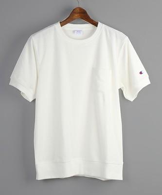 Champion/チャンピオン 別注New CVC TERRY CLOTH T-SHIRT with POCKET