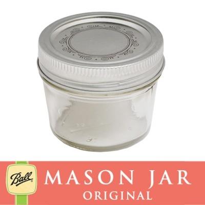 メイソンジャー 4oz レギュラーマウス Ball Mason jar オリジナル クリア スムース