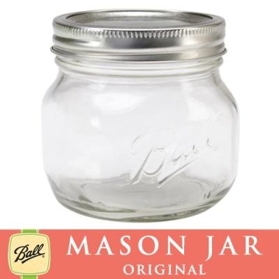 メイソンジャー 16oz エリート ワイドマウス Ball Mason jar オリジナル クリア パイント