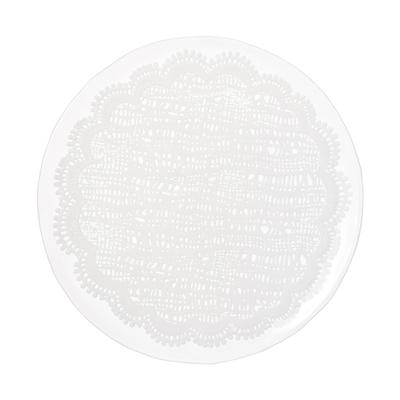 レーシープレート ホワイト