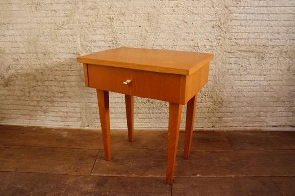 Wood drawer sidetable 3