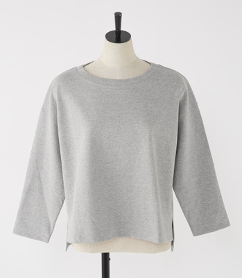 High count crew-neck LT